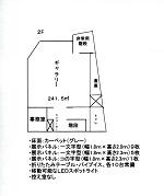 協同組合タッケン美術展示館(青森市民美術展示館) 2階平面図