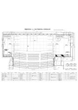 リンクモア平安閣市民ホール 舞台平面図 舞台奥行 9m(客席数 989席)(296KB)